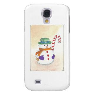 Snowman Galaxy S4 Cover