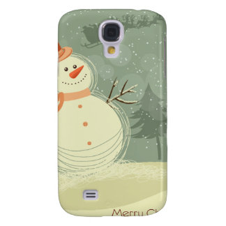 Snowman Galaxy S4 Covers