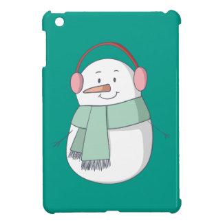 Snowman Girl iPad Mini Cover