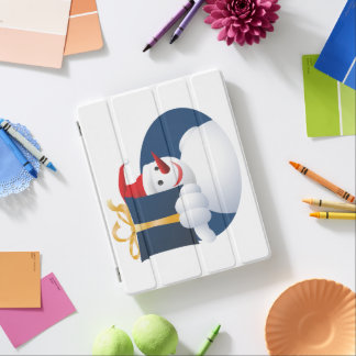 Snowman hands over gift... iPad cover