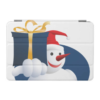Snowman hands over gift... iPad mini cover