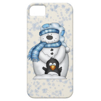 Snowman iPhone 5 barely there iPhone 5 Covers