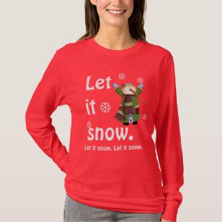 Snowman Joy Tee