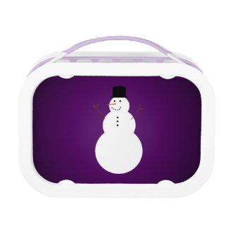 Snowman Lunchbox