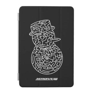 Snowman maze iPad Mini Cover