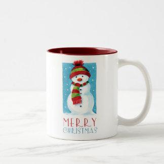 Snowman   Merry Christmas Novelty Mug