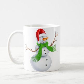 Snowman on a mug! coffee mug