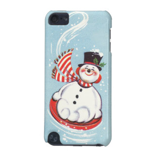 Snowman on Snow Disc iPod Touch (5th Generation) Covers