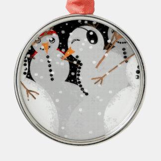 Snowman Party Ornament