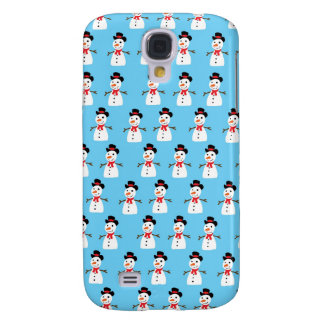 Snowman pattern galaxy s4 cover