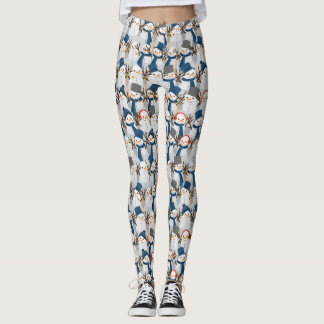 Snowman Pile Leggings