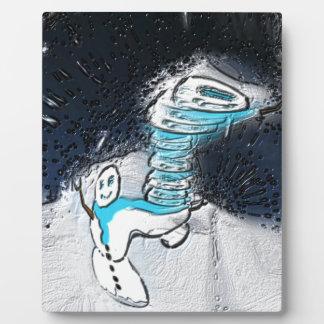 Snowman Plaque