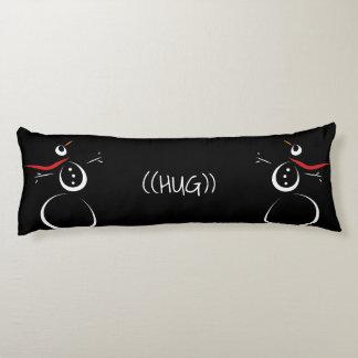 SNOWMAN PRESENTS Cute Text Hug Body Cushion