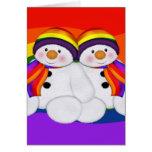 Snowman Pride Cards