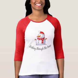 Snowman Themed T-Shirt