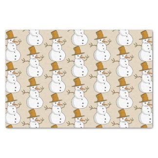 Snowman Tissue Paper