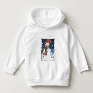 """""""Snowman"""" -Toddler Pullover Hoodie"""