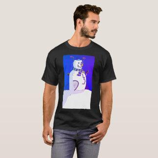 Snowman Weird Modern T-Shirt