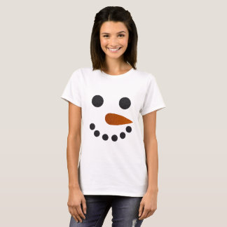 Snowman Winter Holiday Christmas Shirt Cute Gift