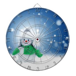 Snowman Wishes Dartboard
