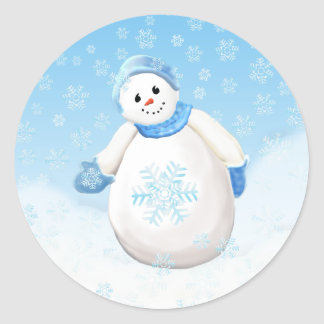 Snowman Wonderland Sticker