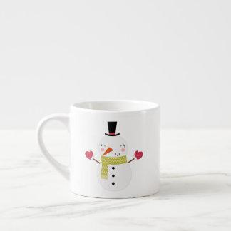 Snowman's Mittens Children's mug
