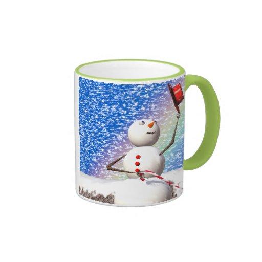 Snowmans Perfect Christmas Day Mug