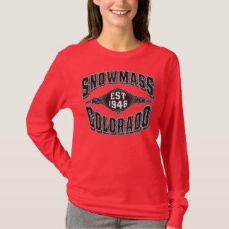 Snowmass 1946 Black & Silver T-Shirt