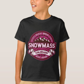 Snowmass Raspberry T-Shirt