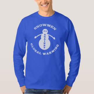 Snowmen Against Global Warming T-Shirt