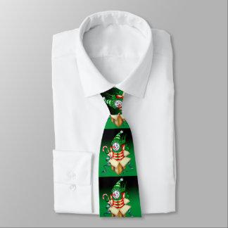 SNOWMEN ALONE CHRISTMAS CARTOON Neck Tie
