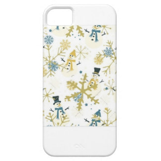 Snowmen and flakes iPhone 5 covers