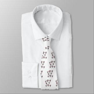 Snowmen and Snowflakes Tie