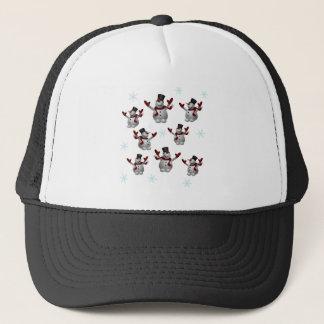 Snowmen and Snowflakes Trucker Hat