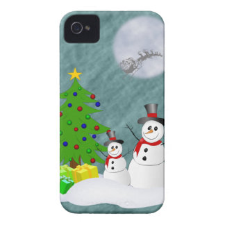 Snowmen Blackberry Bold Case