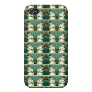 Snowmen Christmas Vintage Winter Pattern Case For iPhone 4