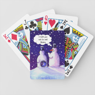 Snowmen Don't Eat Beans Poker Deck