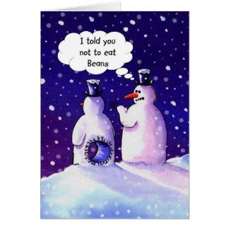 Snowmen Humor Card