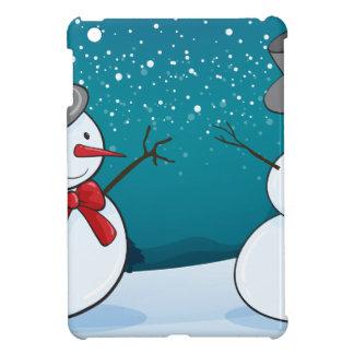 snowmen iPad mini covers