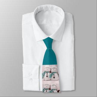 Snowmen Linked Tie