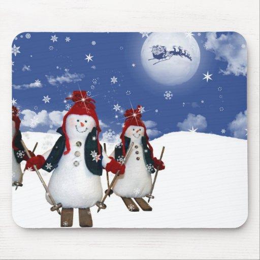 Snowmen Mousepads
