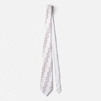 Snowmen pattern tie