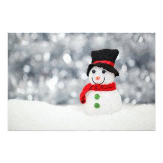 Snowmen Art Photo