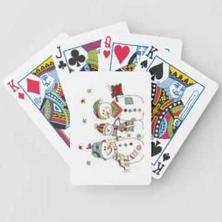 Snowmen Poker Deck