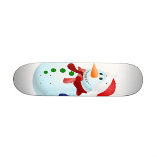 Snowmen Skate Deck