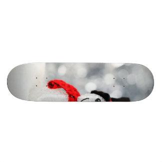 Snowmen Custom Skate Board