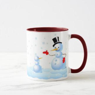 Snowmen Talking Mug