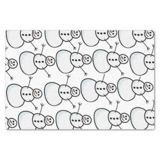 Snowmen Tissue Paper