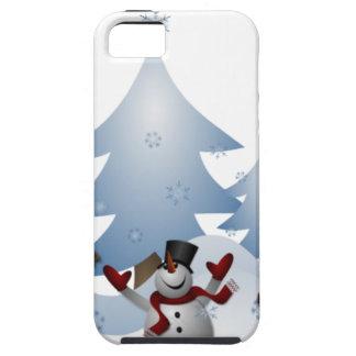 Snowmens & Reindeers iPhone 5 Cover