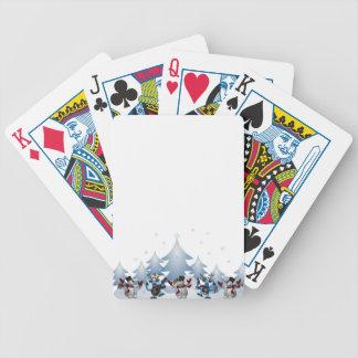 Snowmens & Reindeers Poker Deck